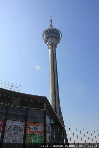 澳門旅遊塔 第61層頂樓