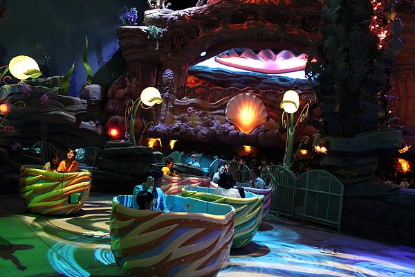 東京迪士尼海洋~美人魚礁湖
