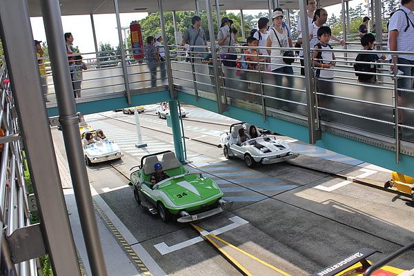 東京迪士尼樂園~明日樂園區--大賽車場