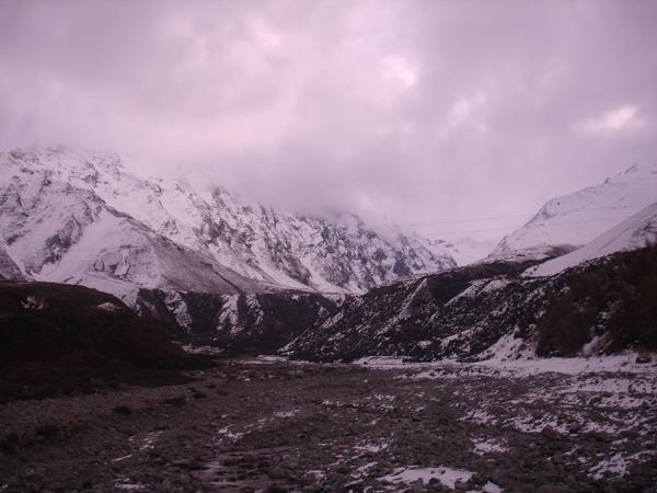 近一點的雪山