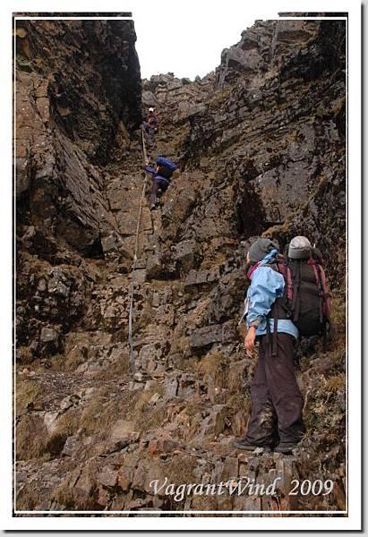 險峻的大斷崖