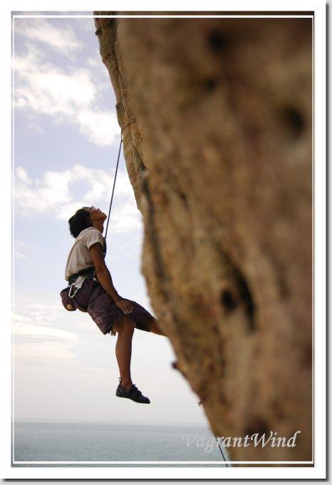 20090813--龍洞中岩-騙人的牆