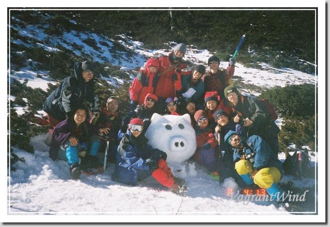 20000101--雪山圈谷-雪豬