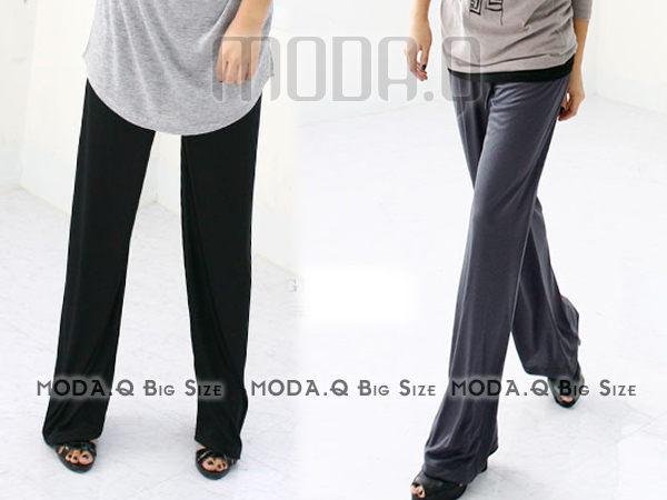 *MoDa.Q中大尺碼*【Y965-2】超舒適休閒正式兩穿型長褲
