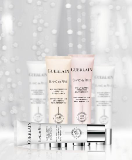 GUERLAIN嬌蘭-珍珠極光綻白潤色隔離乳-廣告