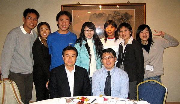 程門家族與原田老師