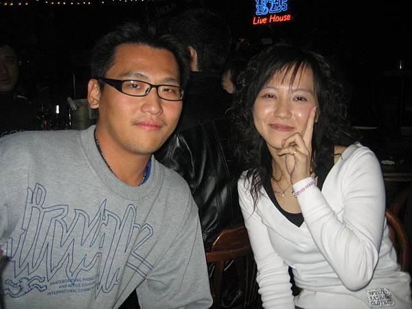 和宇哥和他女友Evan