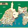靜岡縣地圖