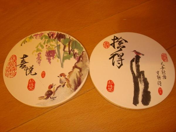 戰利品--陶製吸水杯墊