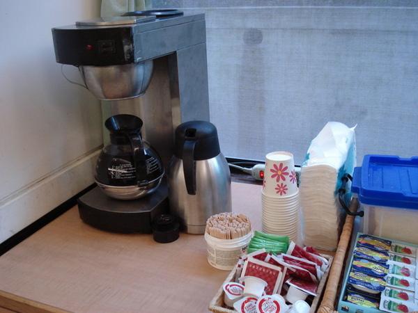 西式早餐--咖啡與熱茶