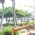 馬貝雅館外的泳池