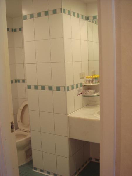 乾濕分離的浴室