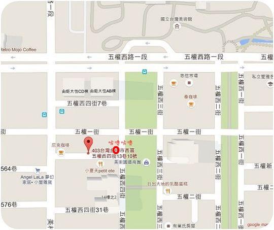 巴特2店map