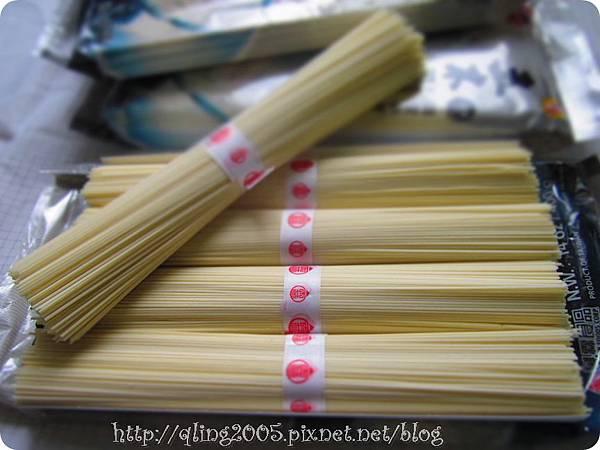 五木拉麵【銀絲麵】產品內容物