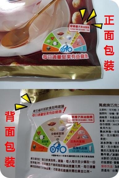巧克力榛果飲衛生署飲食指南建議