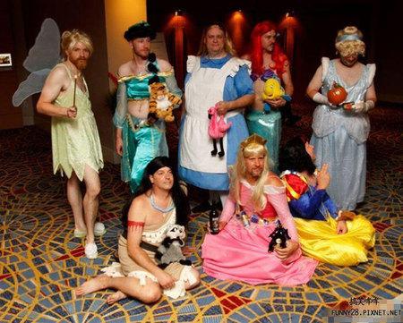 迪士尼公主大集合