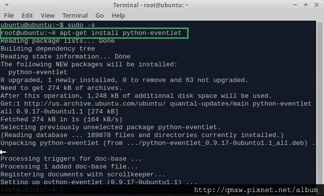 python-eventlet