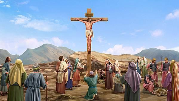 神、恩典、耶穌、耶和華、十字架