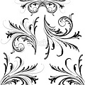 stock-illustration-9252823-delicate-scrollwork-design-elements
