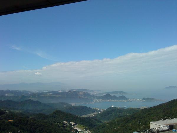 九份雲和海