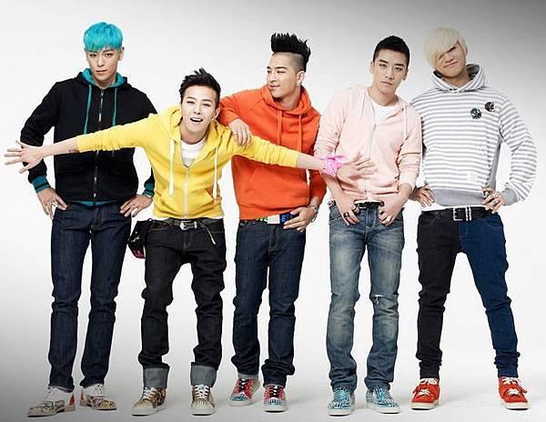 BigBang-韓國超人氣團體