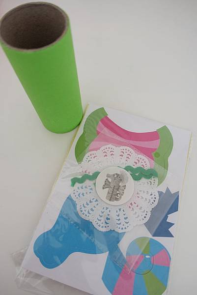 紙筒海馬1