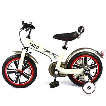 14兒童腳踏車-white