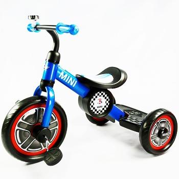 三輪車-blue