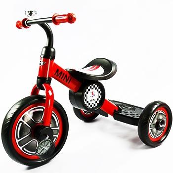 三輪車-red