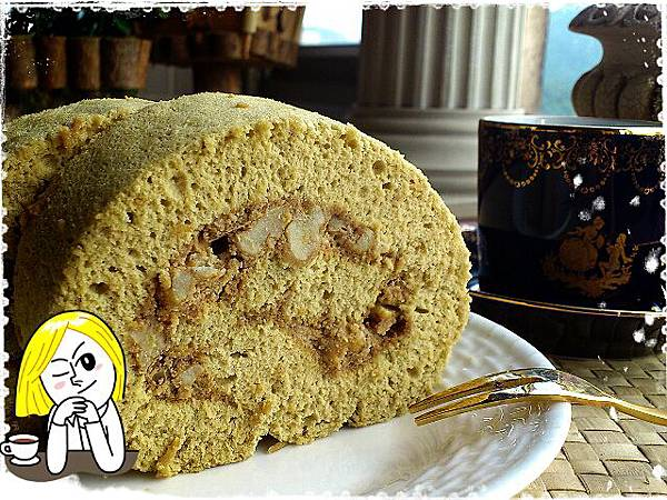 咖啡核桃蛋糕捲