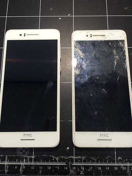 HTC 728摔得好慘