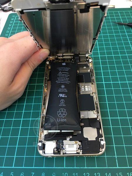 iphone6 裡頭包了個炸彈