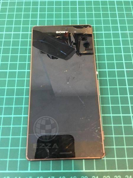 Sony Z3面板爆裂紋
