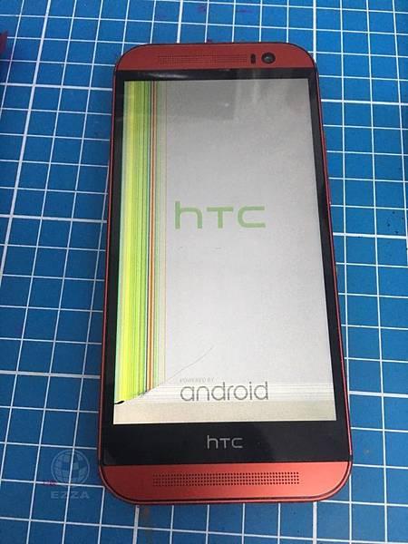 HTC M8液晶破裂