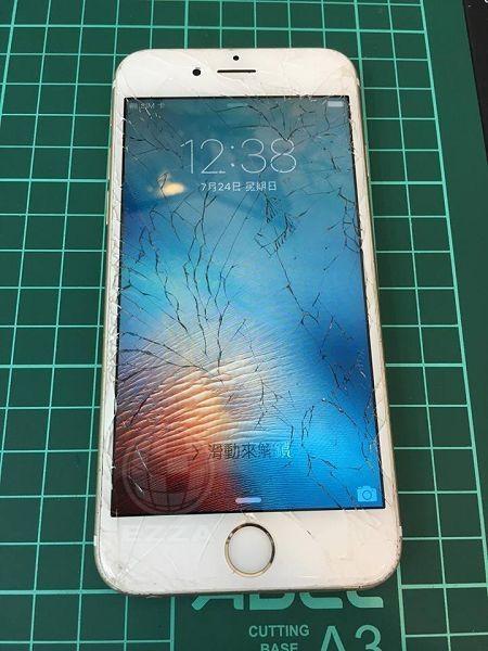 iphone6S 面板破裂嚴重