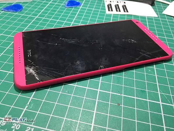 HTC D816毀容了啦
