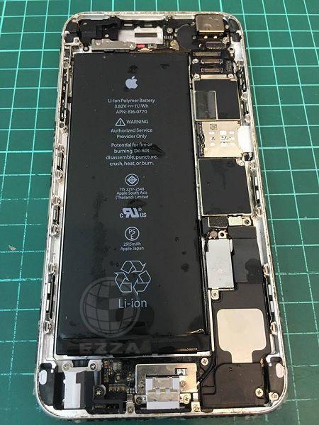 iphone6+泡水不開機