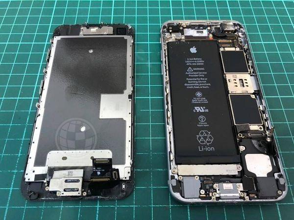 iphone6S泡水無法開機