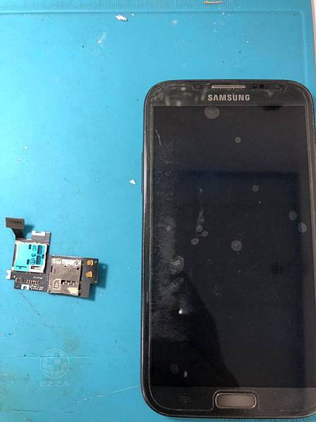 三星NOTE2 SIM卡座損壞