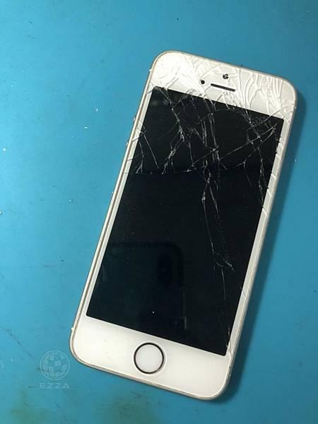 IPHONE SE破碎的面板