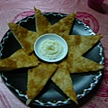 第一天晚餐~太陽魚餅