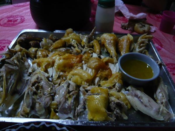 第一天晚餐~ 筒仔雞,讚啦 好好吃