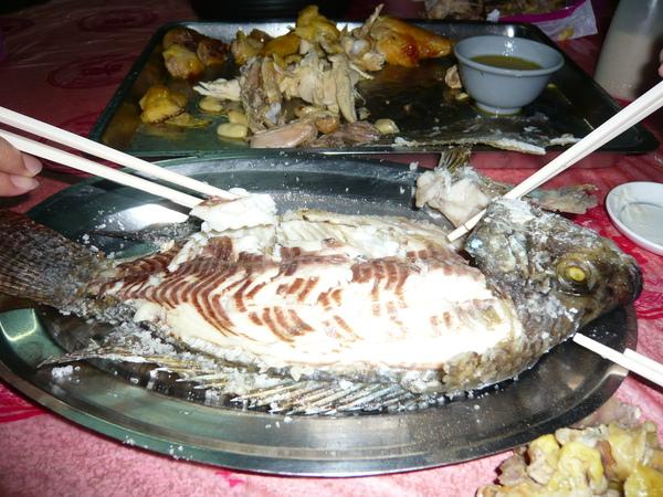 看到鮮嫩的魚肉沒