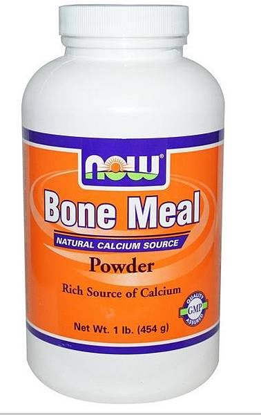 自製鮮食營養品-Now Bone Meal骨粉