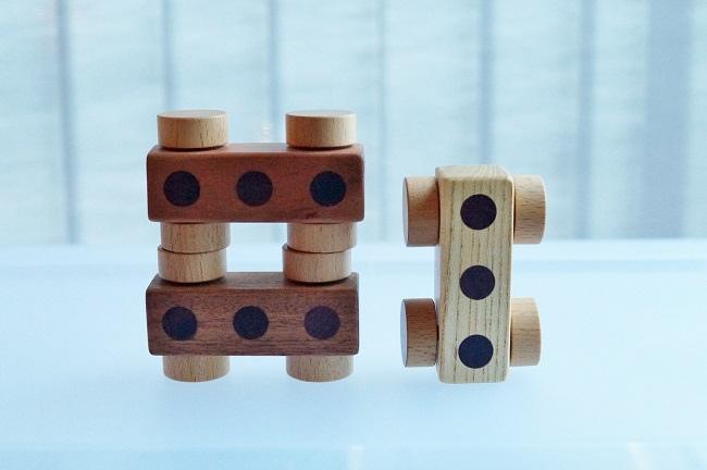 soopsori原粹木積木,益智玩具