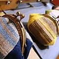 手工植物染口金包