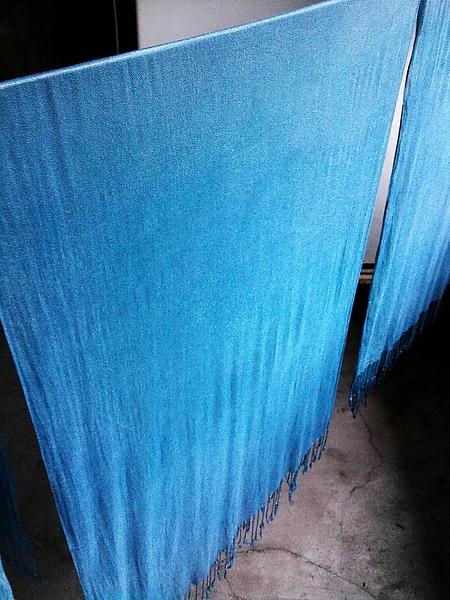 2010.11.17早上八點染圍巾染到晚上七點...