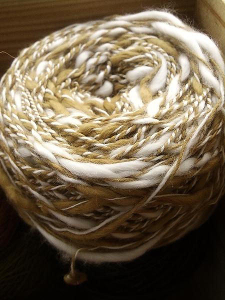 設技師週曝光新品:植物手染混紡棉線