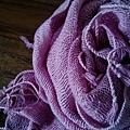 手紡純棉圍巾披肩。