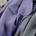 2011.01圍巾:絲光棉值物手染圍巾